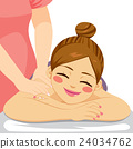 Woman Massage Spa 24034762
