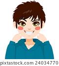 Boy Showing Braces 24034770