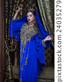 woman in tradition arab dress 24035279