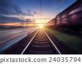 rail, railroad, railway 24035794