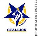horse. horse mascot. 24036651