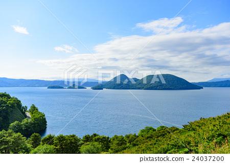 洞爺湖(從Sobetsu公園觀看) 24037200