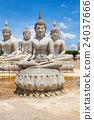 Buddha statue and blue sky 24037666