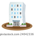 建築 大樓 白底 24042336