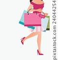 shopping bag woman 24044254