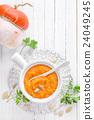 pumpkin soup 24049245