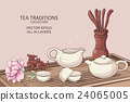 tea ceremony illustration 24065005
