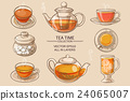 glass tea set color 24065007