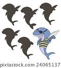 shark pirate, vector 24065137