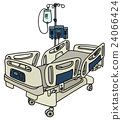 Hospital position bed 24066424
