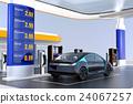 加油站 收費 電動汽車 24067257