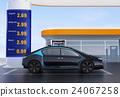 加油站 收費 電動汽車 24067258