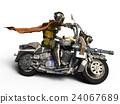 超級英雄 英雄 摩托車 24067689