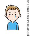 facial, expression, sad 24069756
