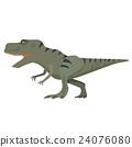 恐龍 矢量 白底 24076080