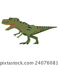 恐龍 矢量 白底 24076081