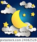 moon, night, cloud 24082526