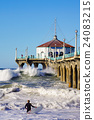 surf, jetty, pier 24083215