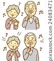 senior, couple, elderly 24083471