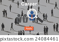 Career Job Profession Apply Hiring Concept 24084461