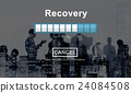 Recovery Crisis Processing Loading Icon Concept 24084508