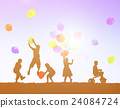 Balloon Activity Casual Cheerful Children Youth Concept 24084724