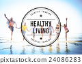 Healthy Life Living Nutrition Active Excercise Concept 24086283