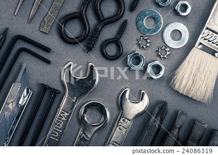 DIY圖像,很多工具 24086319