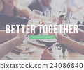 Better Together Connection Corporate Family Friendship Concept 24086840