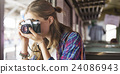 Girl Adventure Hangout Traveling Holiday Photography Concept 24086943