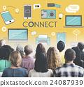 Connect Connection Devices Technology Communicztion Concept 24087939