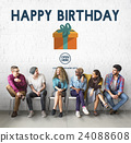 Happy Birthday Event Occasion Anniversary Concept 24088608