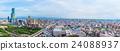 오사카의 도시 풍경 일본 24088937