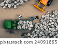 Garbage collector miniature dolls 24091895