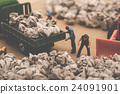 trader, industrial waste, miniature 24091901