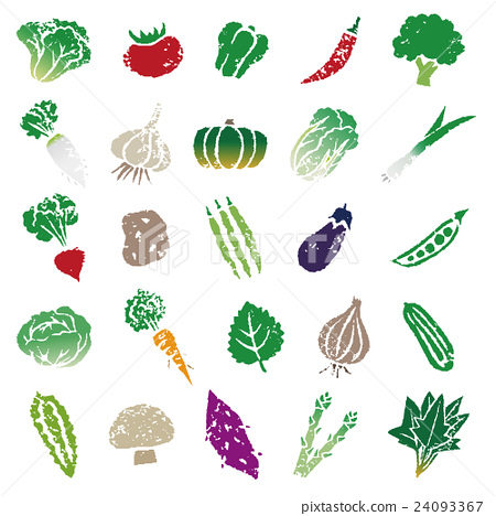 vegetables, vegetable, illustration 24093367