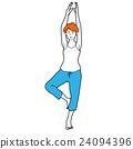 瑜伽 瑜珈 伸展 24094396
