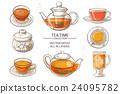 tea cup teapot 24095782
