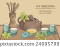 tea ceremony illustration 24095799