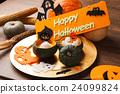万圣节 布丁 甜食 24099824
