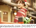 和服女性肖像 24100777
