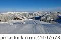 Ski slope on Mt Wispile, Gstaad 24107678