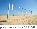 Volleyball courts on Venice Beach 24110502