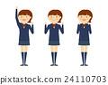 高中女生 握拳 帮助 24110703