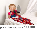 Little girl with an iron. 24113000
