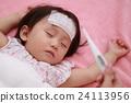 เย็น (หญิงสาวหน้ากากแม่ไข้หวัดใหญ่ 1 ปีเด็กอายุ 1 ปีดูแลเด็กทารก pm 2.5) 24113956