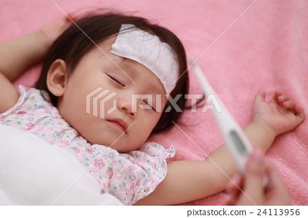 感冒(寶寶女人媽媽流感面膜1歲1歲寶寶嬰兒幼兒護理下午2.5) 24113956