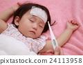 不良狀況(嬰兒媽媽流感溫度計1歲寶寶嬰兒幼兒護理下午2.5) 24113958