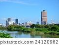 夏季Magomekawa和滨松市中心 24120962