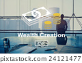 Wealth Creation Affluence Investment Concept 24121477